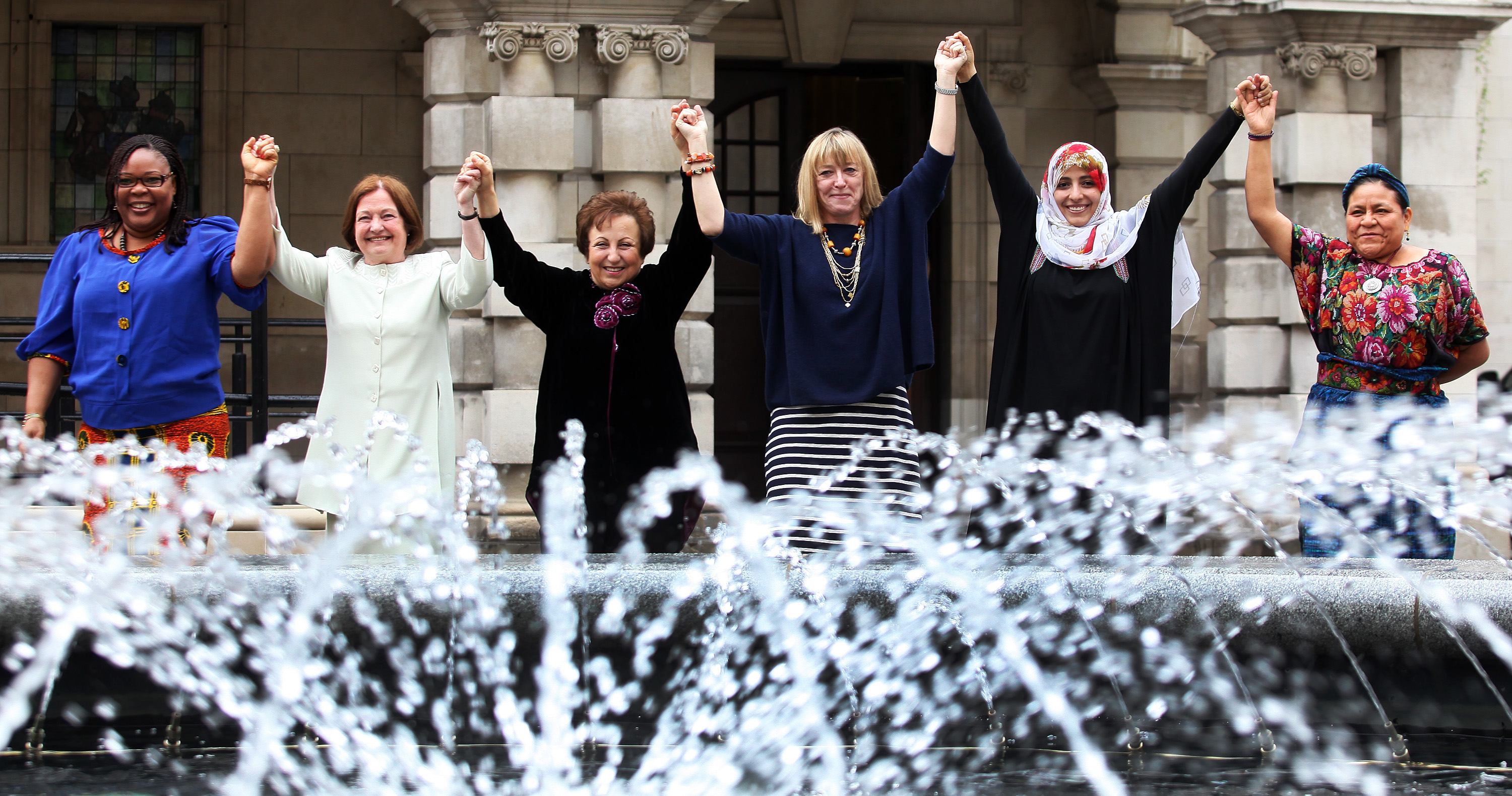 Nobel Peace Women in Northern Ireland to make the case against militarism