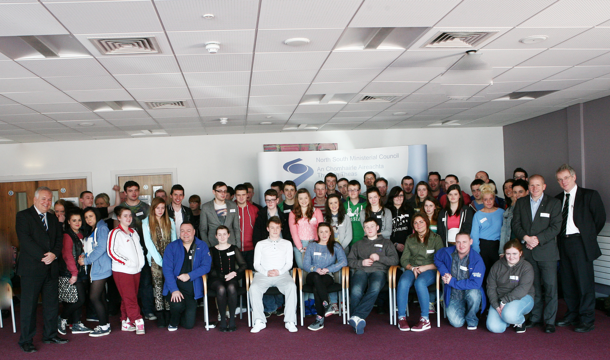 Young people agree to set up North South Youth Forum