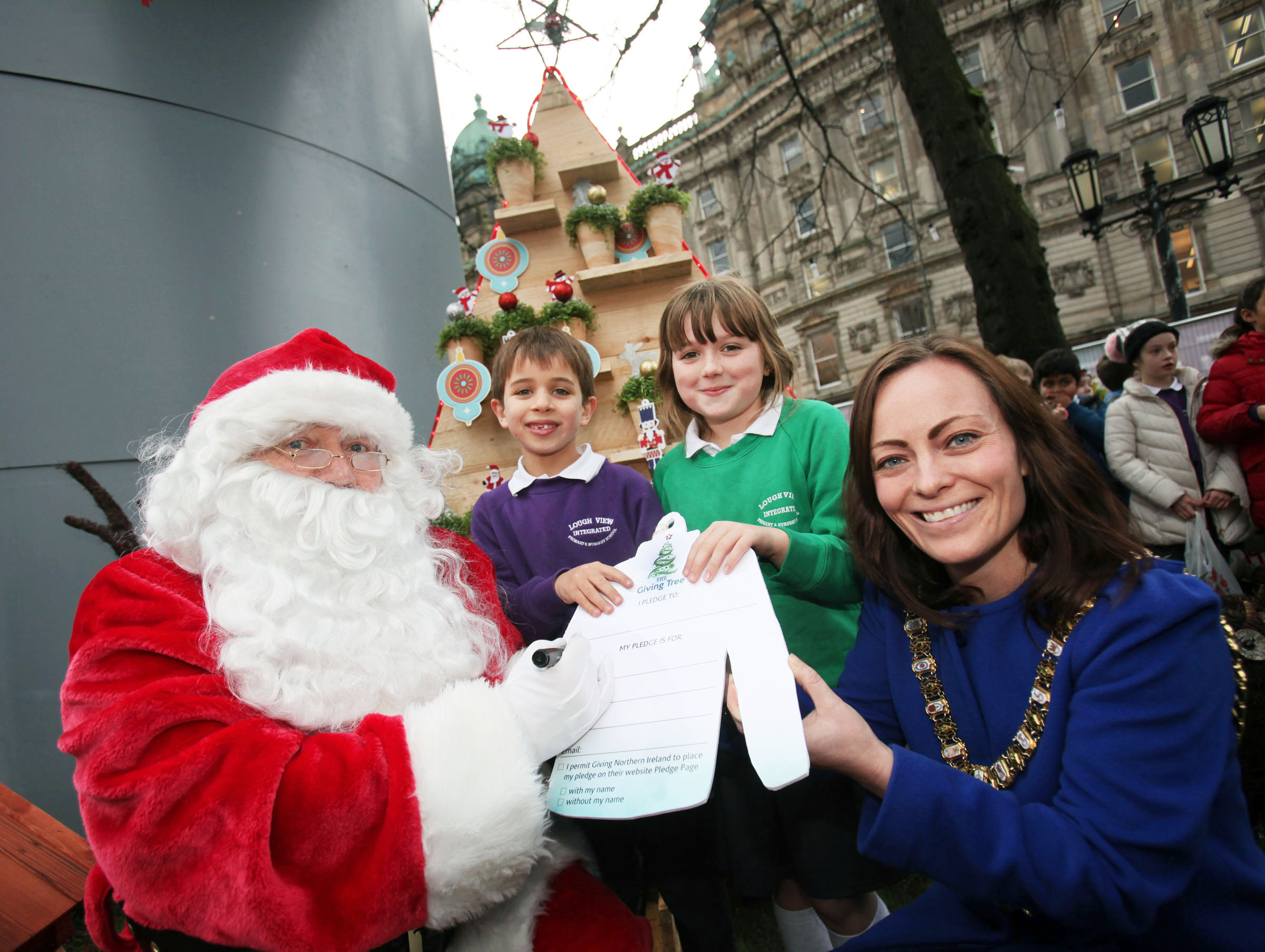 Belfast Christmas Market branches out by hosting charity Giving Tree