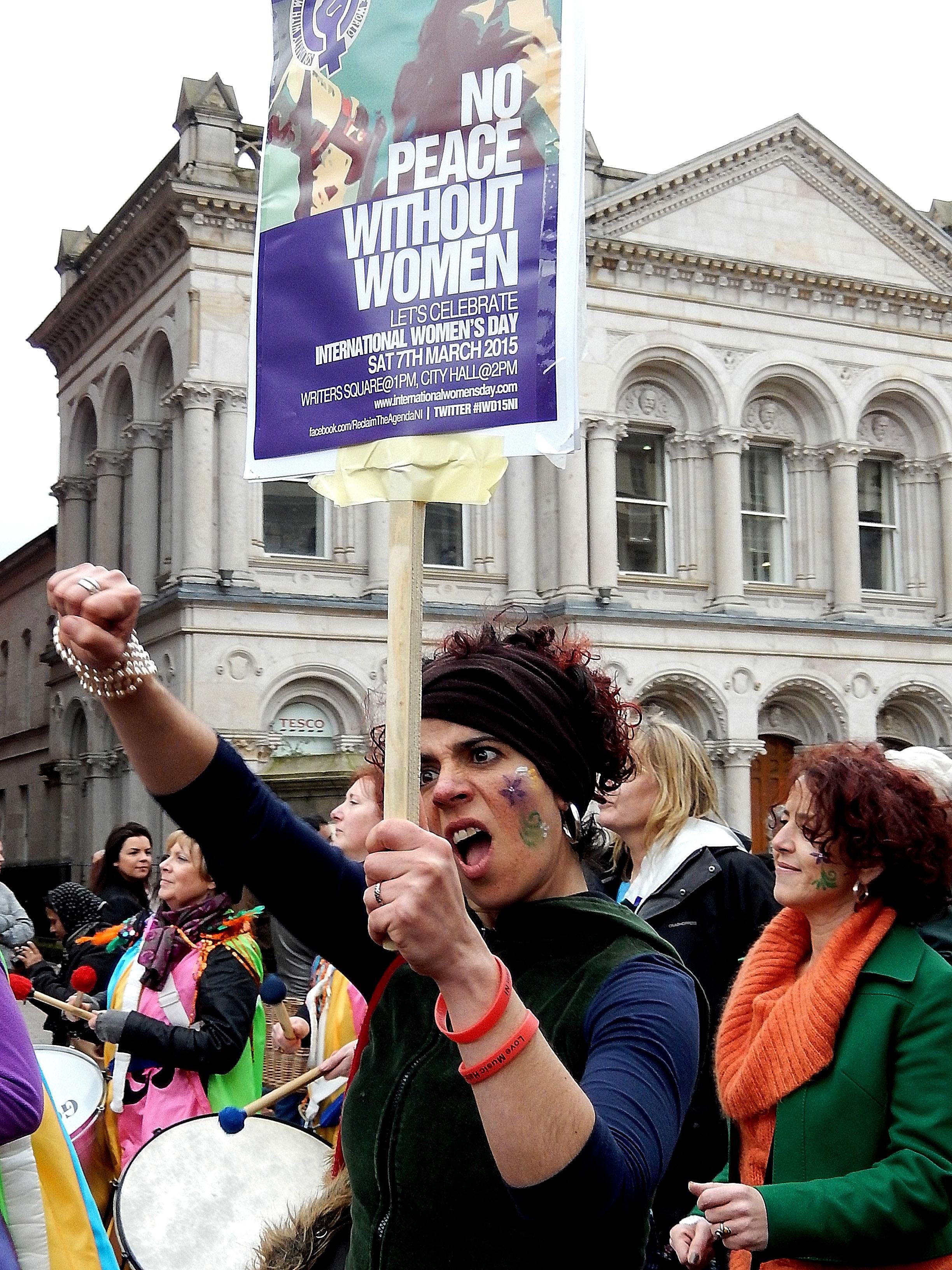 Belfast celebrates International Women's Day