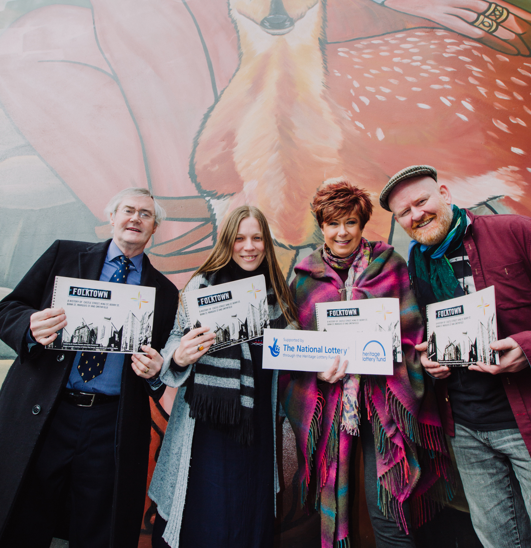 Booklet reveals tales from one of Belfast's most historic quarters