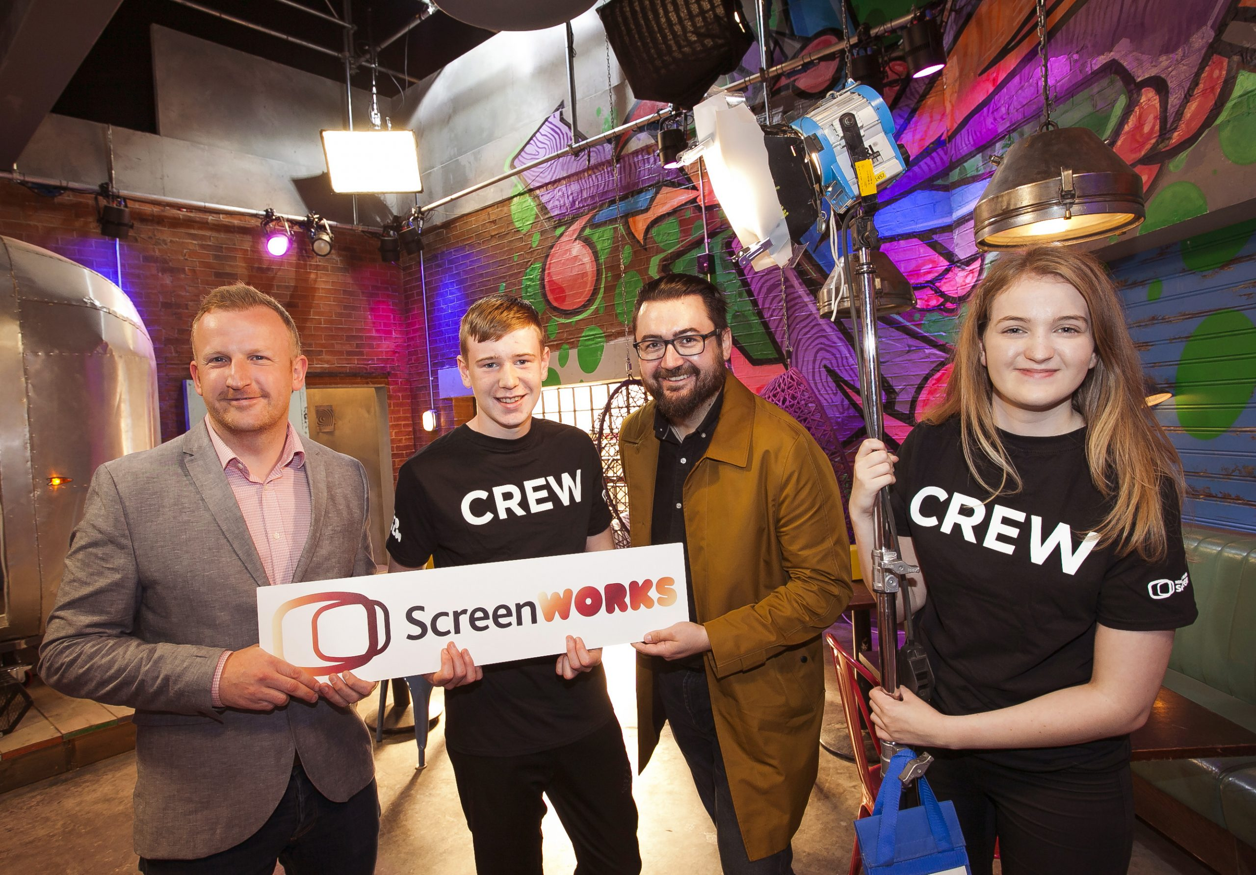 450 young people to be given training in NI screen industries